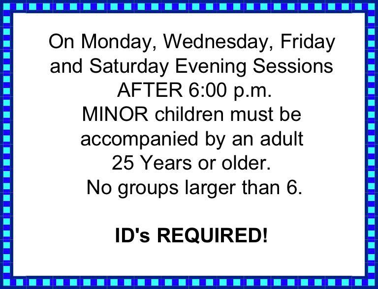 MINOR need Adult