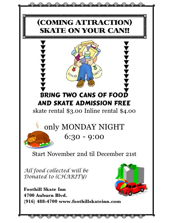 skate on your can flyer single